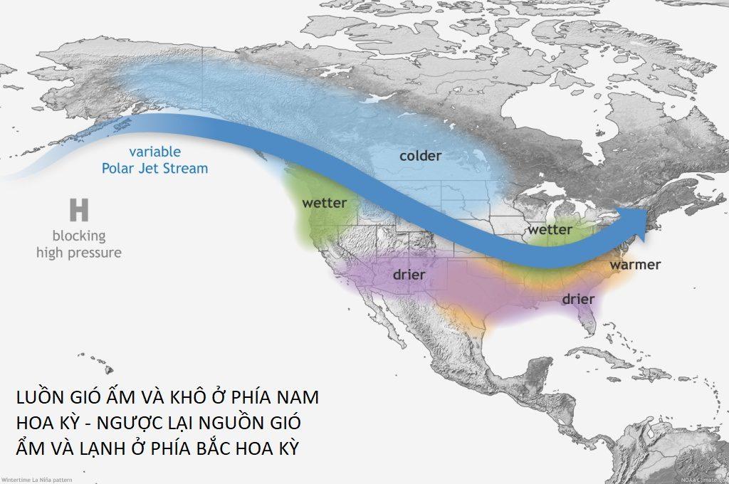 La Lina hiện tượng đối lập El Nino