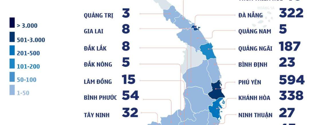 tổng số ca nhiễm từ ngày 27-06 đến ngày 16-07