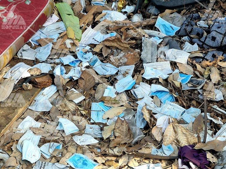 khẩu trang ảnh hưởng đến ô nhiễm môi trường