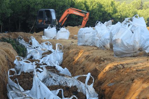 biện pháp chôn lấp rác thải