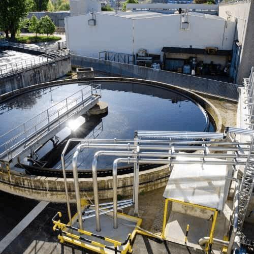 Hệ thống xử lý nước thải hiện đại, tối tân