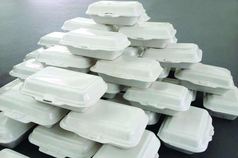 Hộp cơm nhựa đựng thức ăn sử dụng một lần