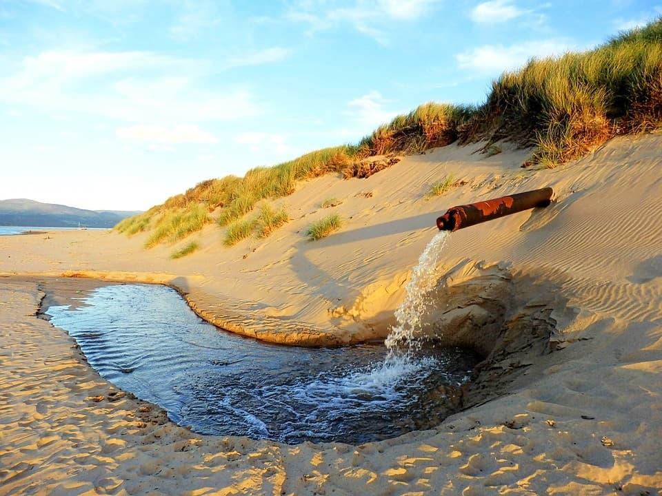 Nước thải sau khi xử lý an toàn để thải ra môi trường
