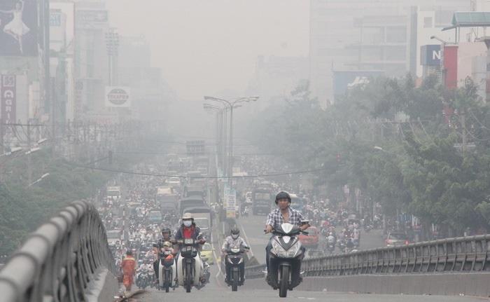 khói bụi ảnh hưởng sức khỏe con người