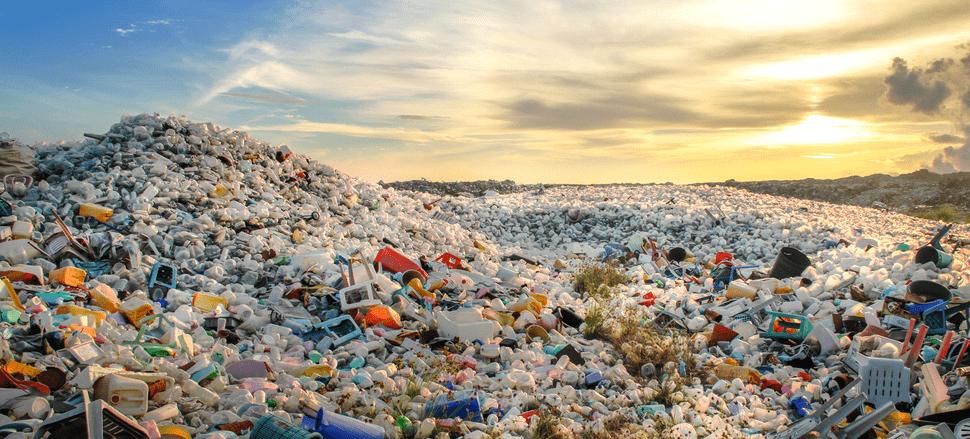 rác thải nhựa khó phân hủy