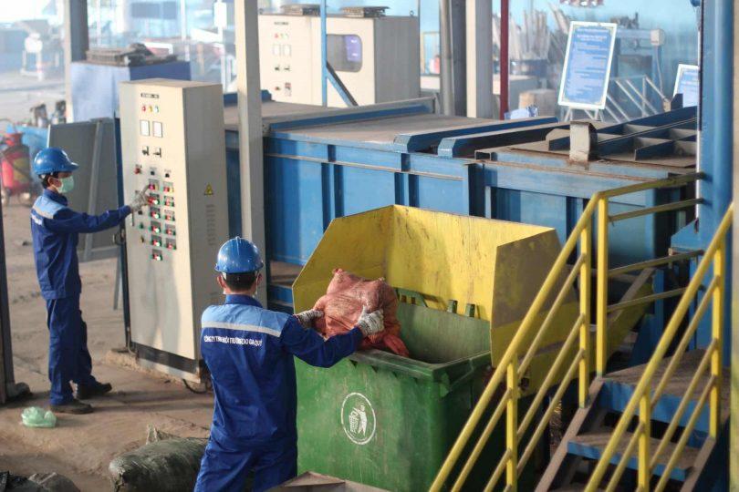 Thu gom xử lý các loại rác thải công nghiệp, rác thải nguy hại, rác thải y tế