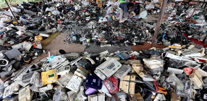 xử lý rác thải, đồ điện tử